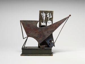 Billiard Player Construction by David Smith contemporary artwork sculpture