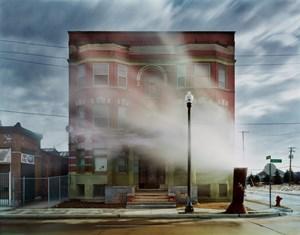 The Aurora, Brush Park neighborhood by Andrew Moore contemporary artwork