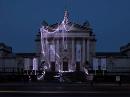 Anne Hardy and Banksy Play Ghosts of Christmas Past, Present and Future