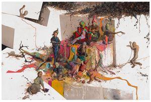 Russmoos by Jonas Burgert contemporary artwork