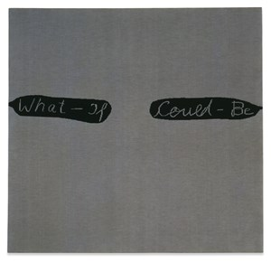 What - If Could - Be by Rosemarie Trockel contemporary artwork