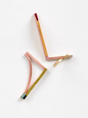 Jawlensky's Smile #8 by Henrik Eiben contemporary artwork