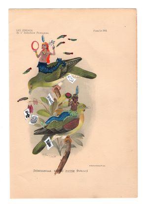 Sans titre, série Libres comme l'air by Karine Rougier contemporary artwork