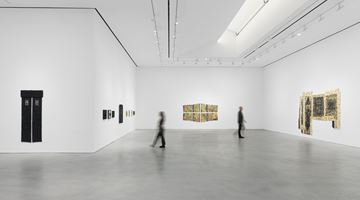 Contemporary art exhibition, Jack Whitten, I AM THE OBJECT at Hauser & Wirth, 22nd Street, New York