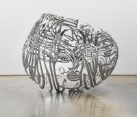The Heart by Ghada Amer contemporary artwork sculpture