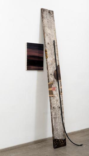 Ramp 4. (Rising Smoke) by Biraaj Dodiya contemporary artwork sculpture