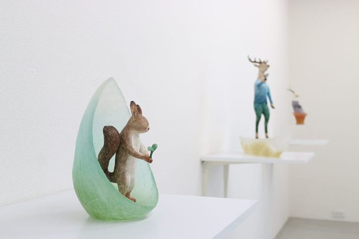 Exhibition view: Group Exhibition, in the small town, Kamakura Gallery, Kamakura (18 May–13 July 2019). Courtesy Kamakura Gallery.