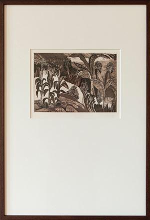 Untitled by Mrinalini Mukherjee contemporary artwork print