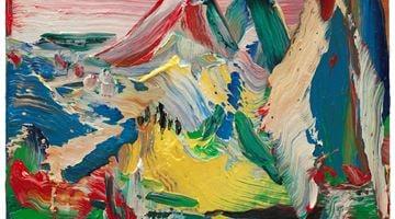 Contemporary art exhibition, Yin Zhaoyang, Blue-green 青绿 at Tang Contemporary Art, Hong Kong