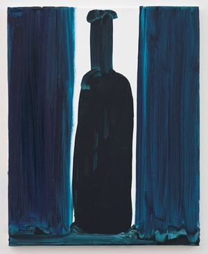 Bottle by Marlene Dumas contemporary artwork