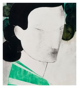 The Gardner II by Iris Schomaker contemporary artwork