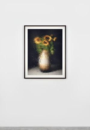 """""""Bodenvase mit Sonnenblumen"""" by Gregor Hildebrandt contemporary artwork"""