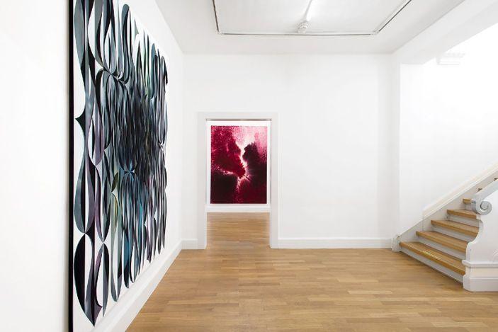 Exhibition view: Giacomo Santiago Rogado, The beginning of something, Bernhard Knaus Fine Art, Delmenhorst (23 January–28 March 2021). CourtesyBernhard Knaus Fine Art.