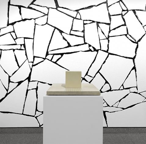 Exhibition view: Sol LeWitt,Forms derived from a cube in two and three dimensions, and one wall work, Krakow Witkin Gallery, Boston (8 January–29 February 2020). Courtesy Krakow Witkin Gallery.