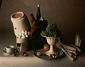 Still Life with Food, New York by Irving Penn contemporary artwork