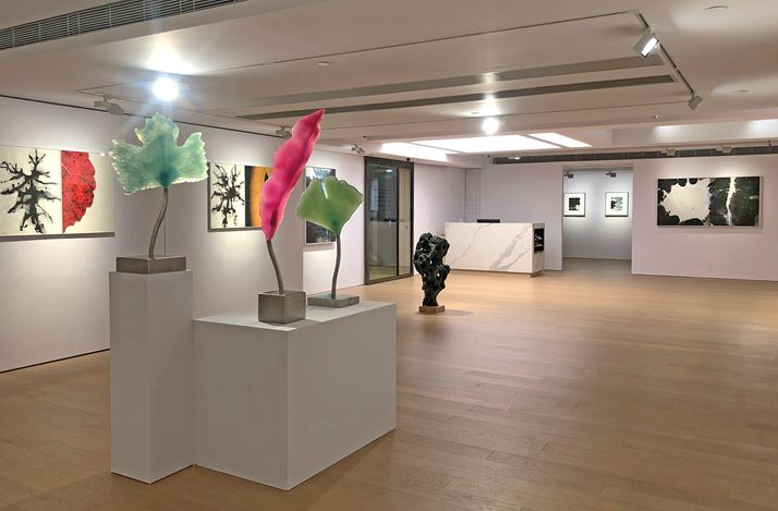 Exhibition view: Zhang Jian-Jun & Barbara Edelstein, Ineffable Garden, Alisan Central (16 March–9 May 2020). Courtesy Alisan Fine Arts.