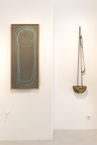 Exhibition view: Frank Mädler, Lob und Landschaft,Galerie—Peter—Sillem, Frankfurt (4 September–17 October 2020). Courtesy Galerie—Peter—Sillem.