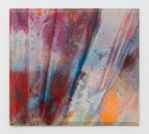 Light Red Clay by Sam Gilliam contemporary artwork