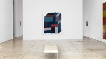 Contemporary art exhibition, Sean Scully, Wall of Light Cubed at Cheim & Read, New York
