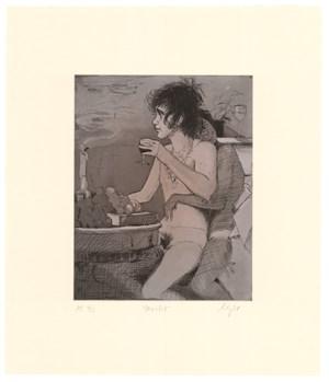 Merlot by Lisa Yuskavage contemporary artwork