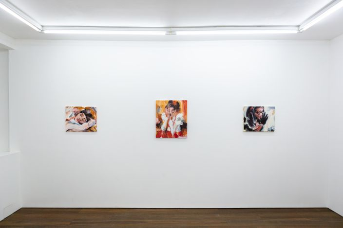 Exhibition view: Laura Lancaster,Closer and Further Away,Workplace, London (4 June–30 July 2021).Courtesy Workplace.