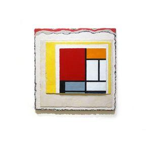 Piet Mondrian Series, Negotiation by Jane Lee contemporary artwork