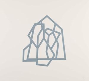 Bamako (Blue 20) by Richard Deacon contemporary artwork