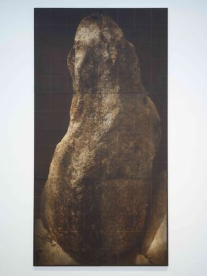 Great Stone by Kichang Choi contemporary artwork print