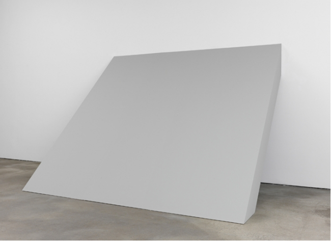 Wall-Floor Slab, 1964 by Robert Morris contemporary artwork