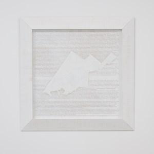 Ka riro ko Te Rau by Brett Graham contemporary artwork