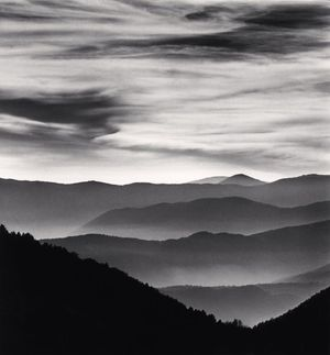 Distant Mountains by Michael Kenna contemporary artwork