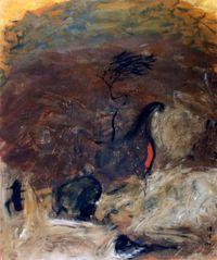 我想種一棵樹 by yen ding sheng contemporary artwork painting