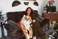 Tina de Malmanche at home, Whakatanke by Fiona Clark contemporary artwork photography