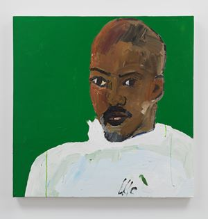 Portrait of Kahlil Joseph by Henry Taylor contemporary artwork