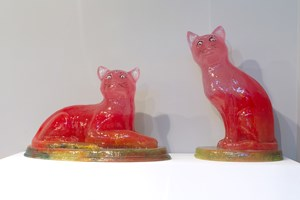Temple Cats by Dale Frank contemporary artwork