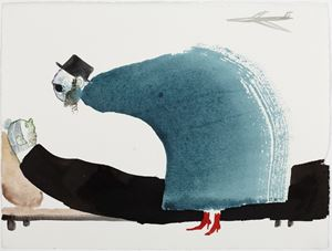 Rites in Pumps by Sanya Kantarovsky contemporary artwork