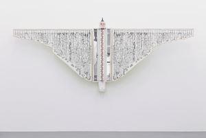 Een monument voor het antropoceen (Het schietlood) by Patrick Van Caeckenbergh contemporary artwork sculpture