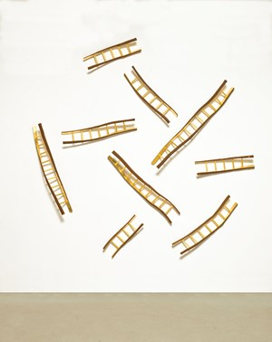 Snakes and Ladders no. 3 by Hossein Valamanesh contemporary artwork