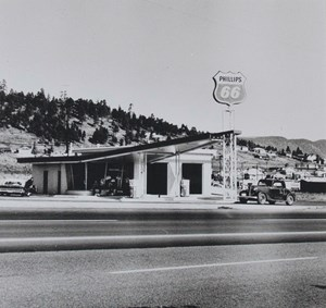Gasoline Stations Portfolio by Ed Ruscha contemporary artwork