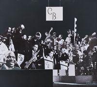 Count Basie's Band by Sam Nhlengethwa contemporary artwork mixed media