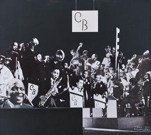 Count Basie's Band by Sam Nhlengethwa contemporary artwork