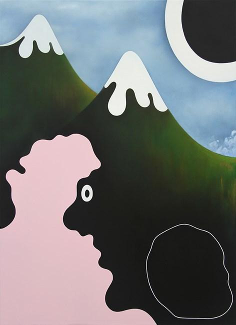 peaks by Brent Harris contemporary artwork