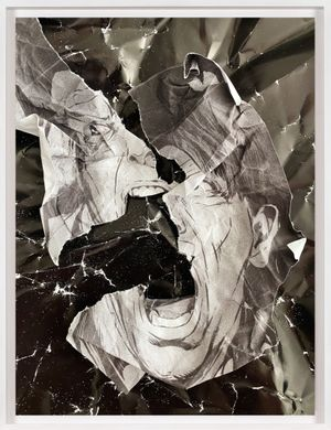 Untitled (Torn) by Christian Marclay contemporary artwork