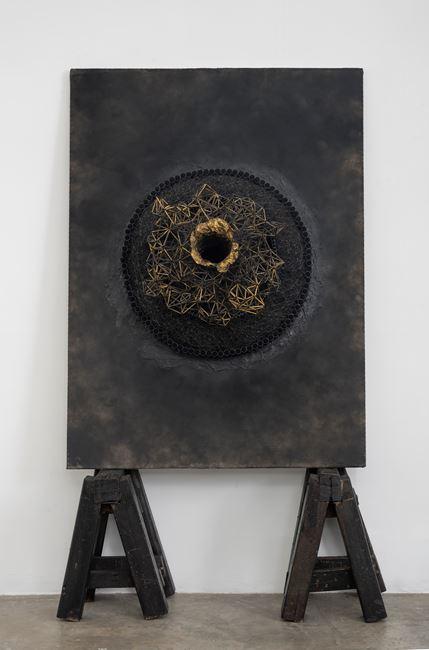 Black Sun Portal 03 by Parul Thacker contemporary artwork