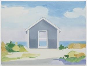 Summer Shack (Door) by Maureen Gallace contemporary artwork