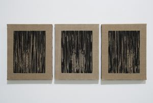 Schwarzer wald by Joël Andrianomearisoa contemporary artwork
