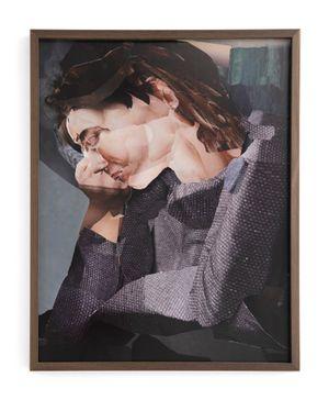 Blue Folding by Alina Frieske contemporary artwork