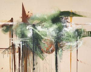 Stranger's End by Elizabeth Neel contemporary artwork