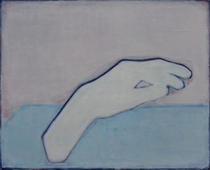 Like a Hand On a Light Background by Tang Yongxiang contemporary artwork