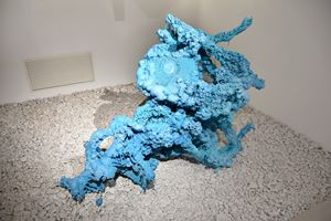 Occupied Object by Nadine Baldow contemporary artwork sculpture